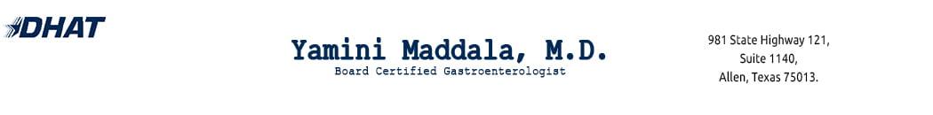 Dr. Yamini Maddala, MD – Gastroenterologist in Allen, McKinney, Prosper Logo